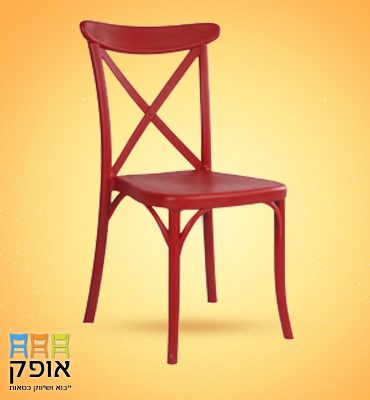 כסאות לאולמות - דגם איקס אדום