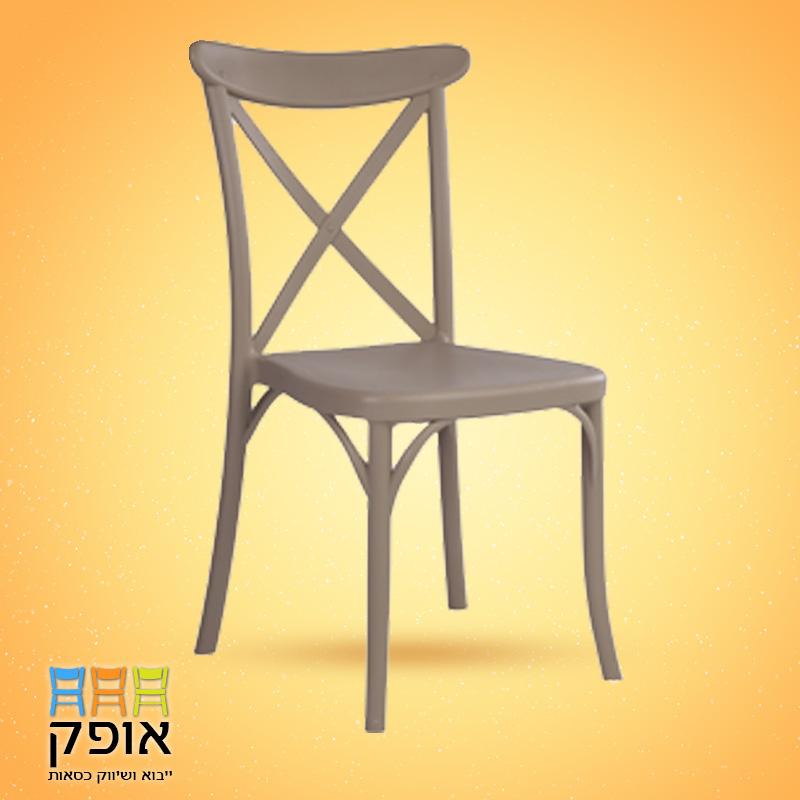 כסאות לאולמות - דגם איקס אפור