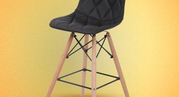 כסאות בר גבוהיים - דגם מעויינים