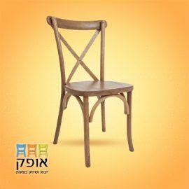 כסא עץ איקס