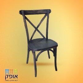 כסאת עץ - דגם איקס