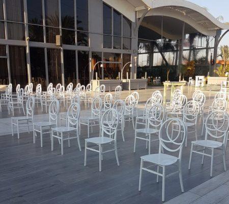 כסאות לאולם אירועים גני רימונים