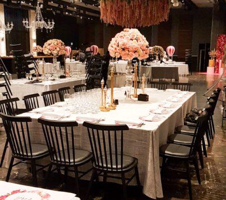 כסאות לאולם אירועים בלה וידה