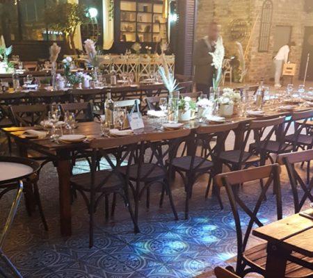 כסאות למלון וגן אירועים ״גארדן״