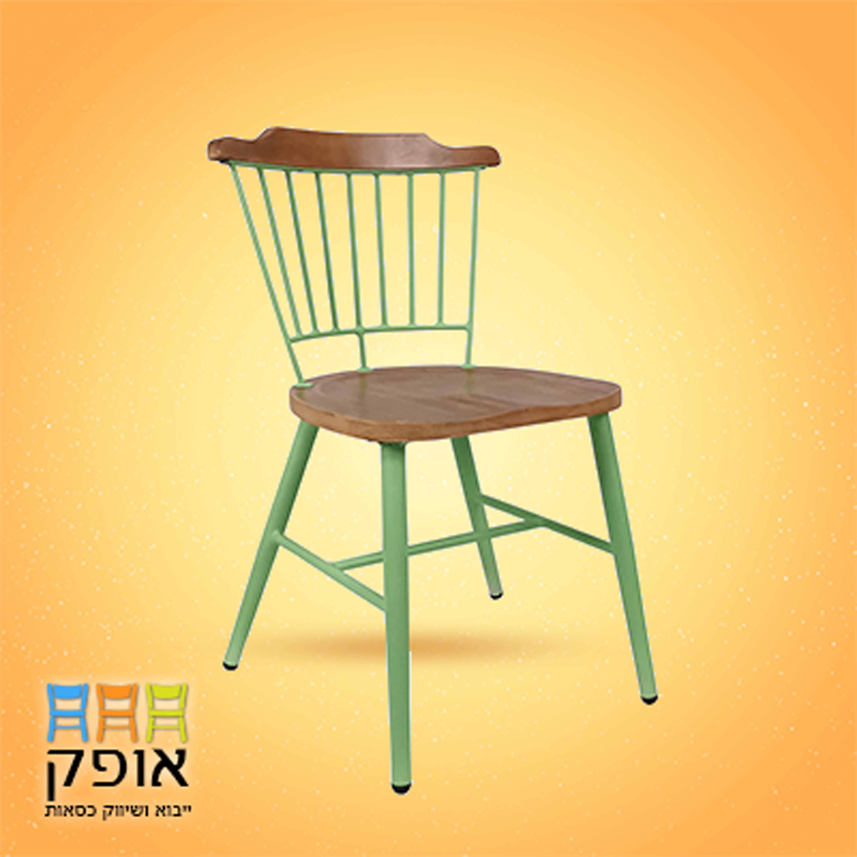 כסאות לאולמות - דגם מניפה ירוק