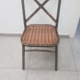 איקס שחור מגולוון - אופק כסאות