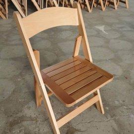 כסא מתקפל טבעי פסים חדש