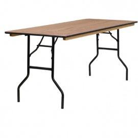 שולחן מתקפל לינדה מלבני