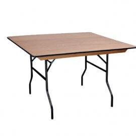 שולחן מתקפל לינדה מרובע