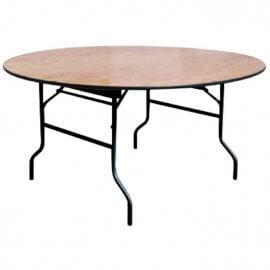 שולחן מתקפל לינדה עגול